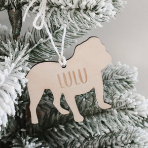 Personalised Dog Ornament