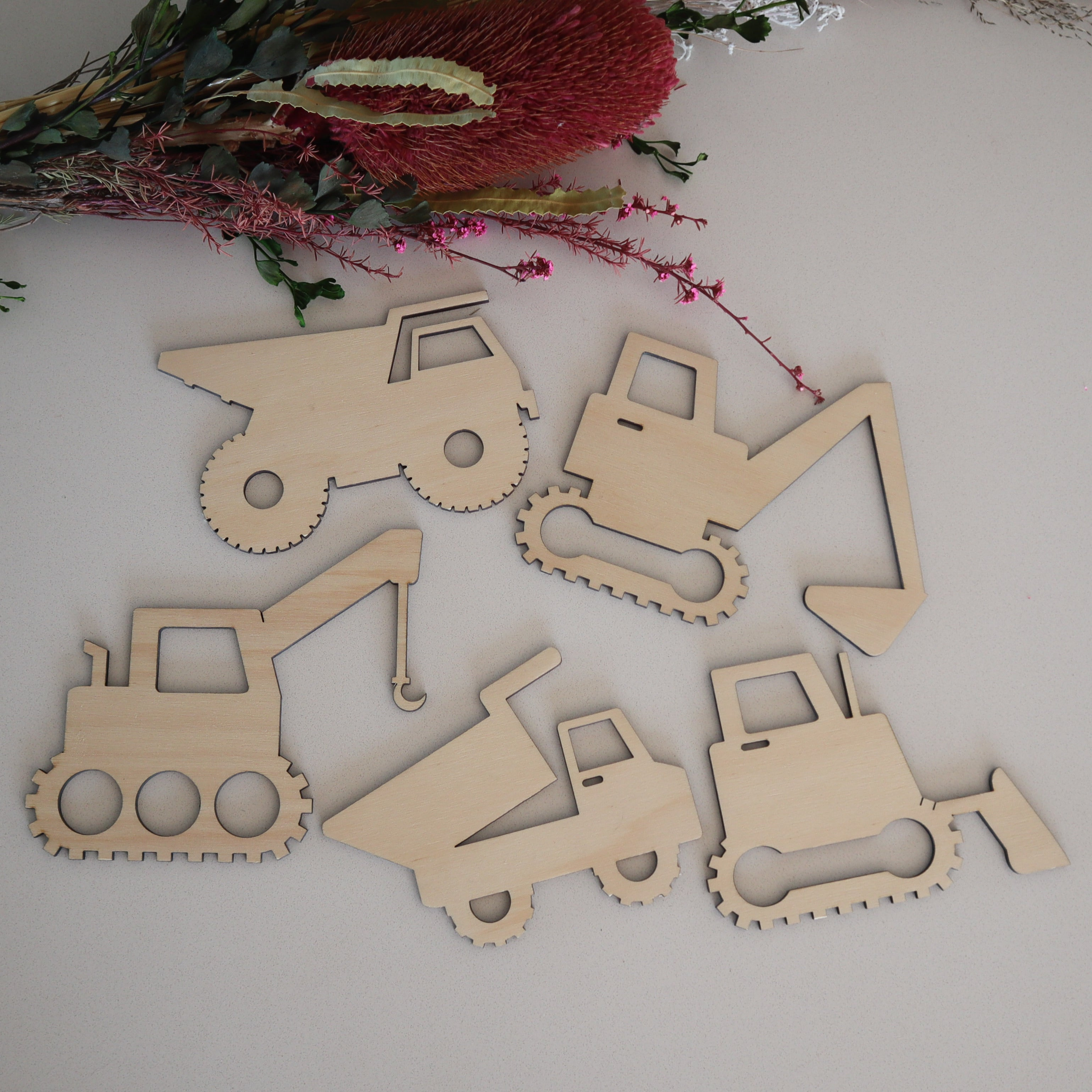 Wooden Truck Wall Plaques