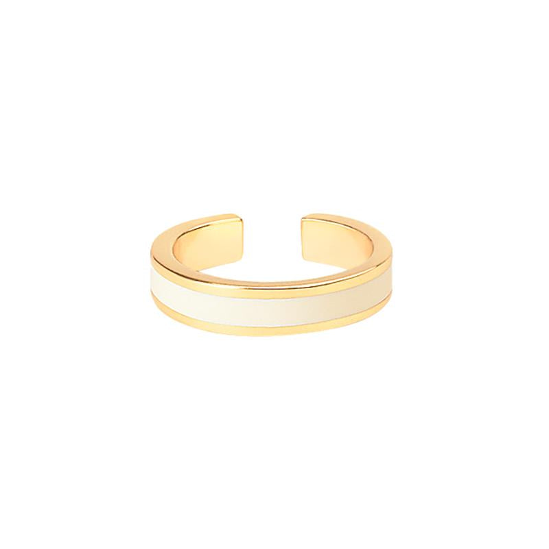 THIN RING SAND WHITE