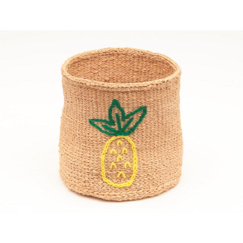 Embroidered Family Pineapple