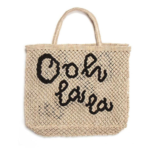Ooh La La Black Natural Bag