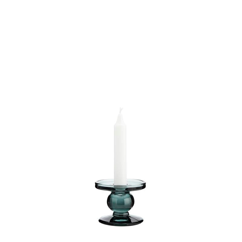 Small Candle Holder Green