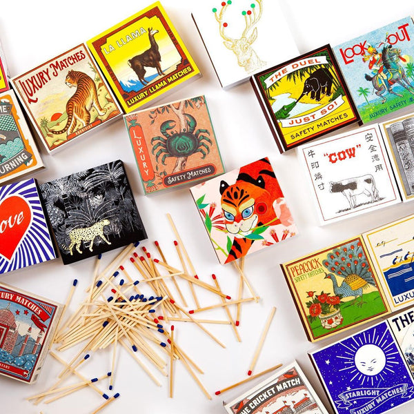 Maison Marcel Archivist Gallery Tiger Matchbox