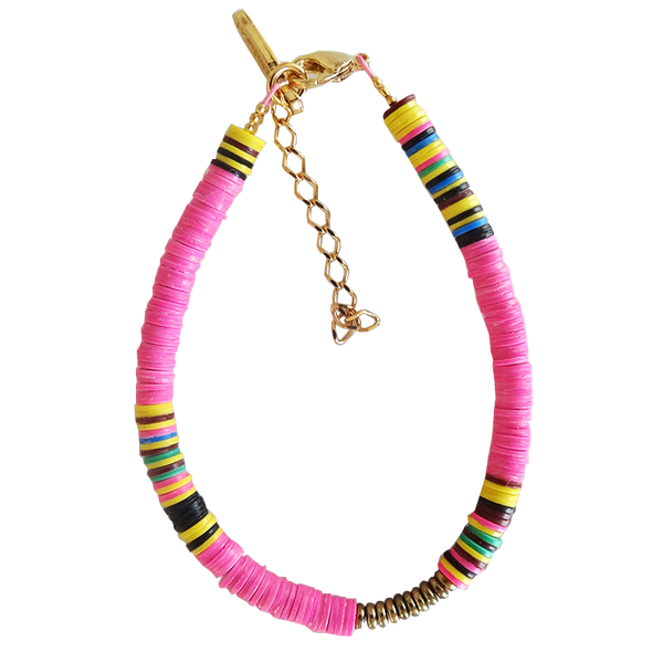 Maison Marcel All The Must Bracelet Fluo Pink