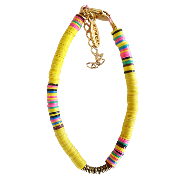 Maison Marcel All The Must Bracelet Neon Yellow