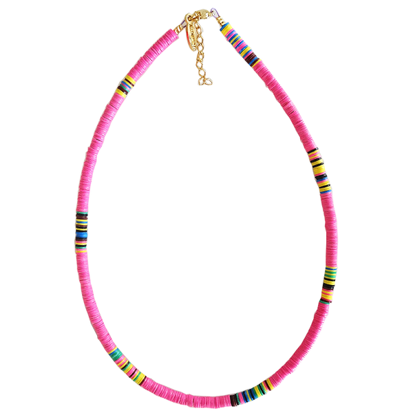Maison Marcel All The Must Fin Necklace Fluo Pink