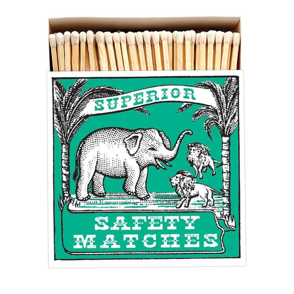 Maison Marcel Archivist Gallery Matchbox Green Elephant