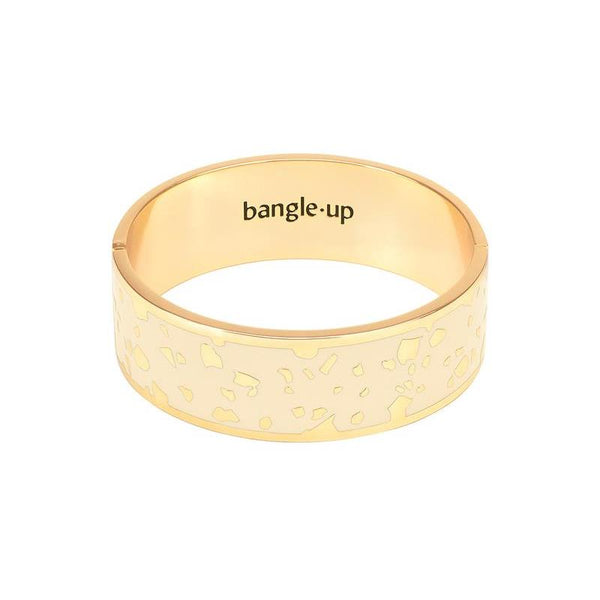 Maison Marcel Bangle Up Medium Bangle White