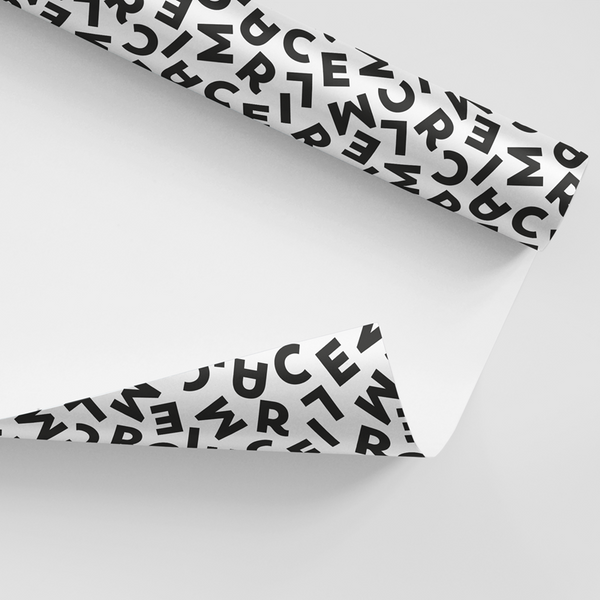 Maison Marcel Black Wrapping Paper