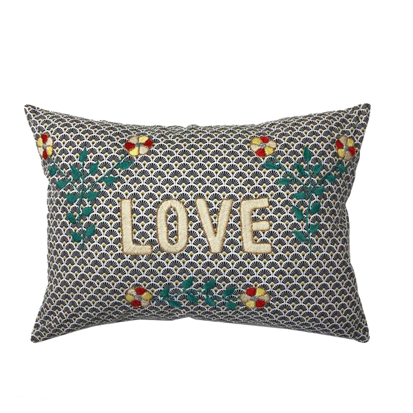 Maison Marcel CSAO Cushion Love Blue