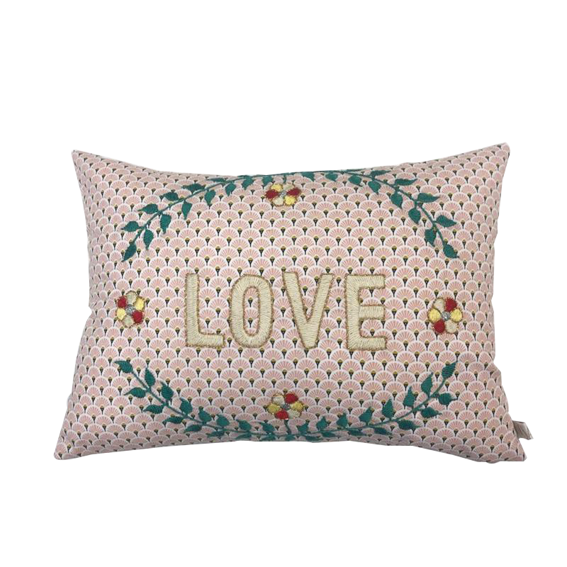 Maison Marcel CSAO Cushion Love White