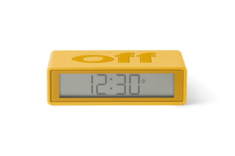 Maison Marcel Clock Yellow Lexon