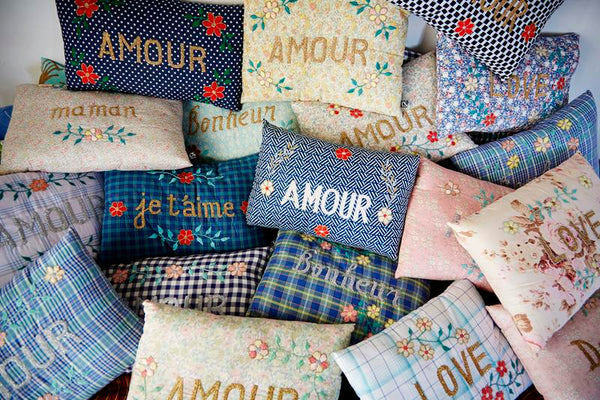 Maison Marcel Cushion Amour Golden CSAO