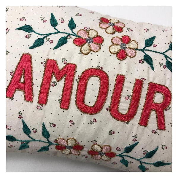 Maison Marcel Cushion Armour Red CSAO