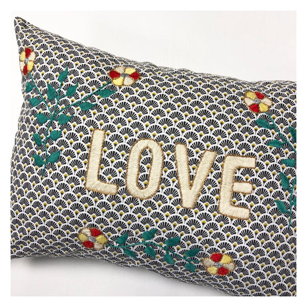 Maison Marcel Cushion Love Blue CSAO