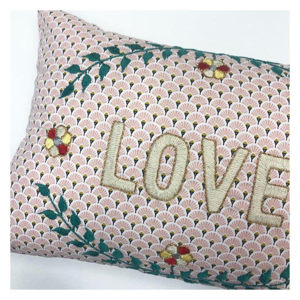 Maison Marcel Cushion Love White CSAO
