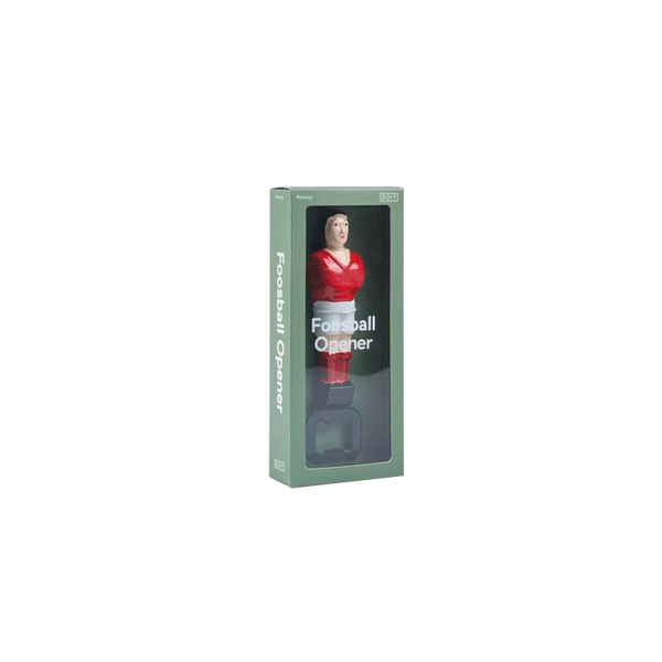 Maison Marcel DOIY Bottle Opener Football Player Red