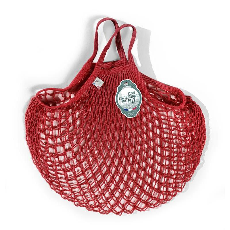 Maison Marcel Filt Net Bag Red