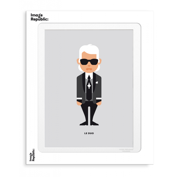 Maison Marcel Image Republic Solo Karl Lagerfield