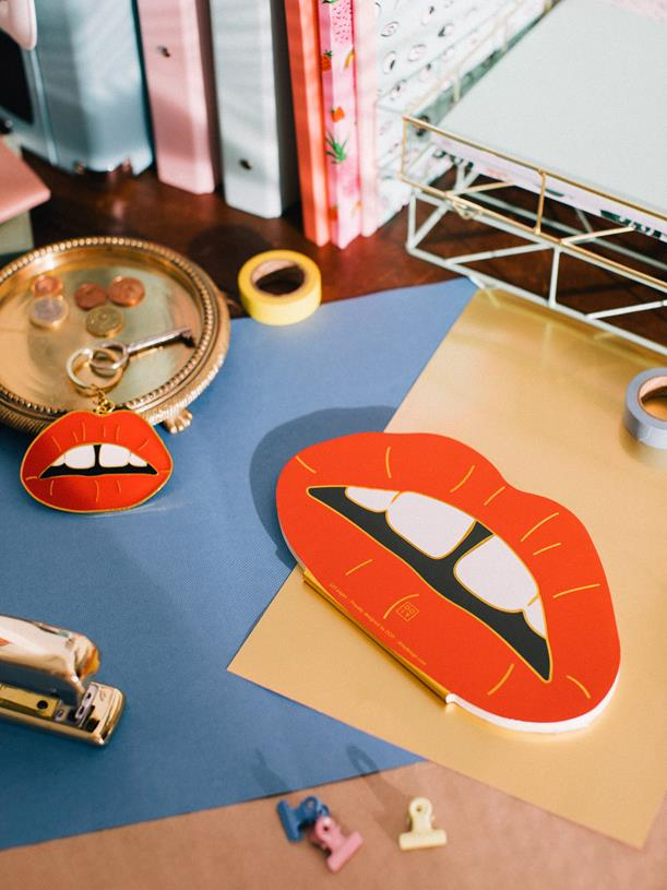 Maison Marcel Key Ring Oversized Lips DOIY