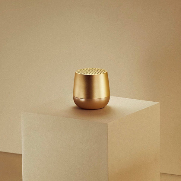 Maison Marcel Lexon Mini Speaker Gold