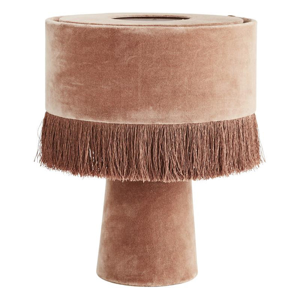 Maison Marcel Madam Stoltz Velvet Table Lamp Dusty Rose