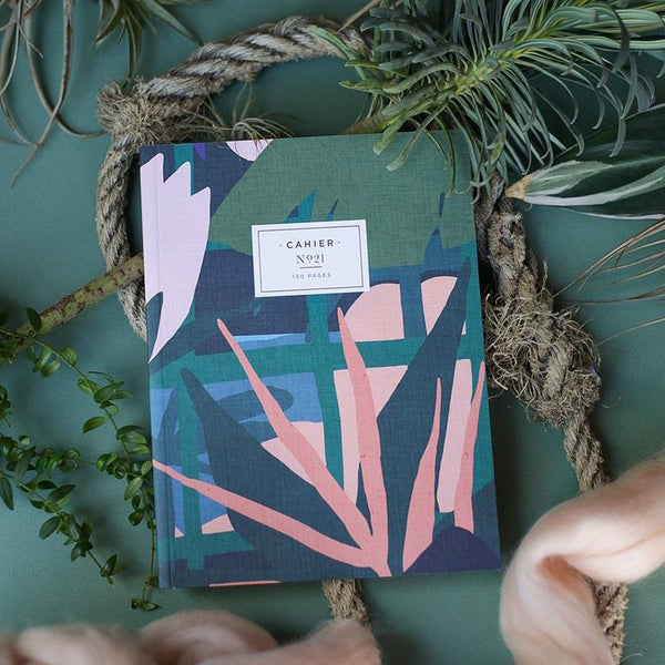 Maison Marcel Maison Fondee Green Leaves Notebook