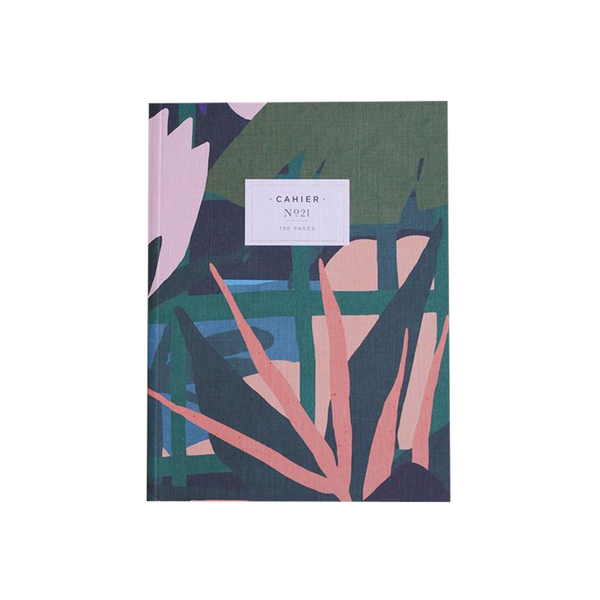 Maison Marcel Maison Fondee Notebook Green Leaves