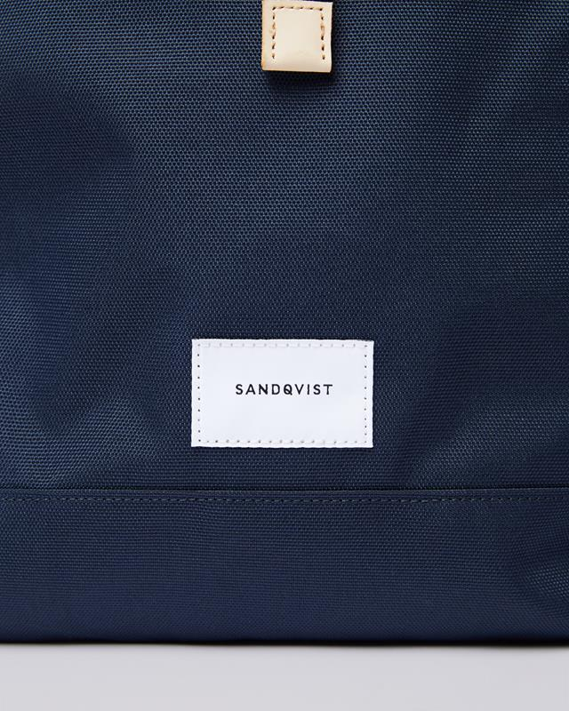 Maison Marcel Navy Bernt Backpack Sandqvist
