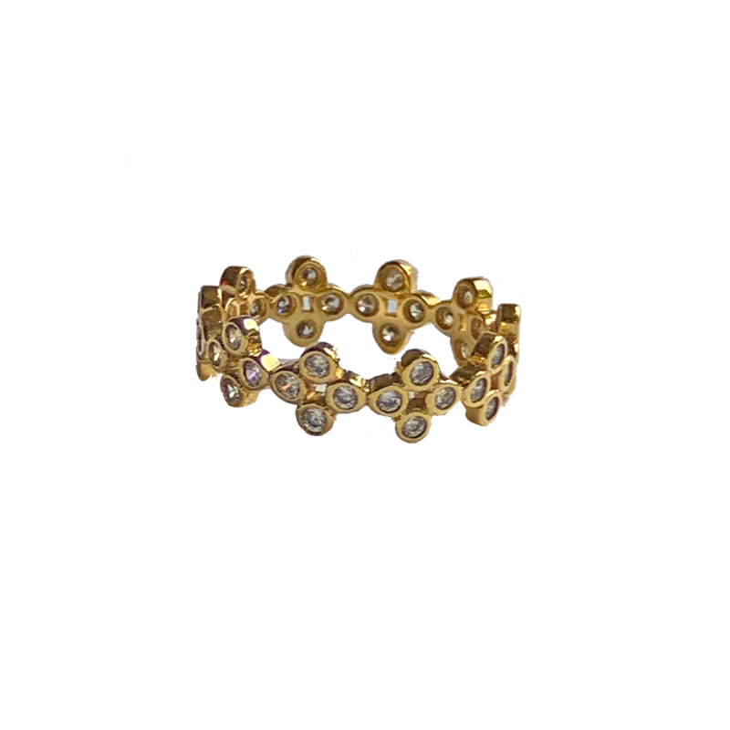 Maison Marcel Nouvel Amour Strass Band Ring