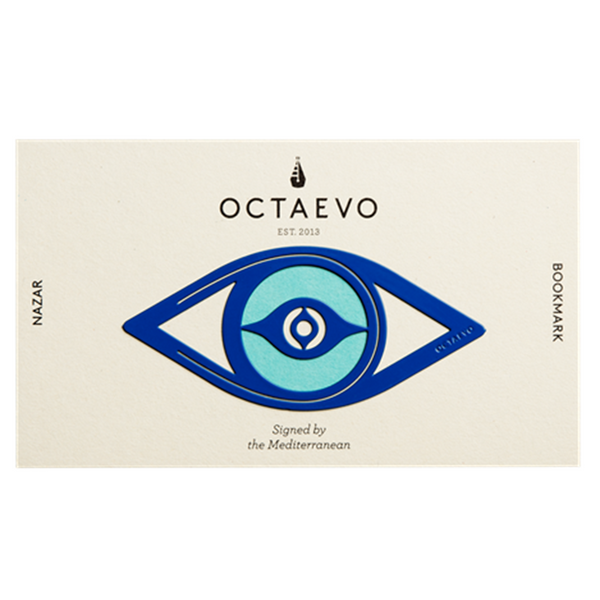 Maison Marcel Octaevo Bookmark Eye Blue