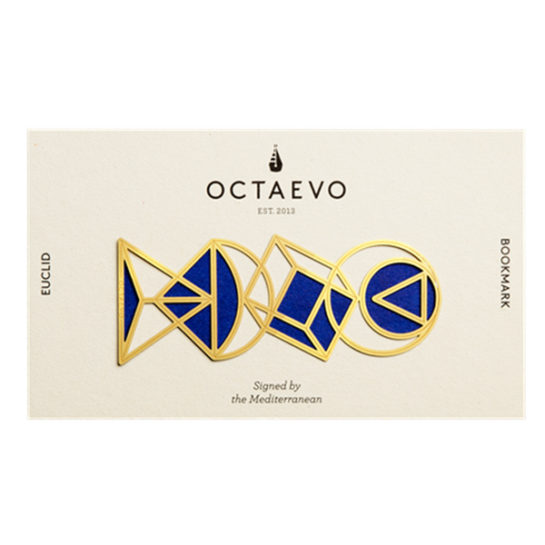 Maison Marcel Octaevo Bookmark Graphic Brass