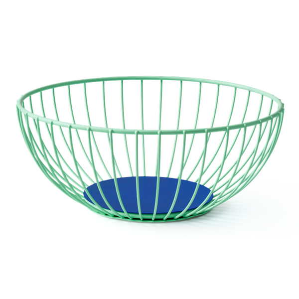 Maison Marcel Octaevo Large Wire Basket Green