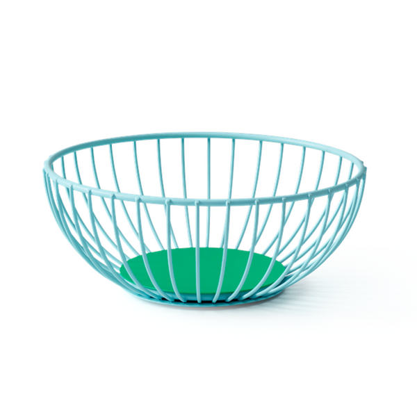 Maison Marcel Octaevo Small Wire Basket Blue