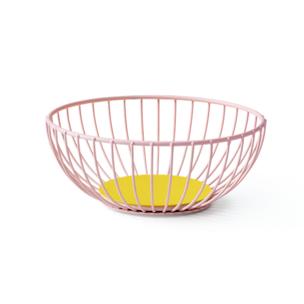 Maison Marcel Octaevo Small Wire Basket Pink