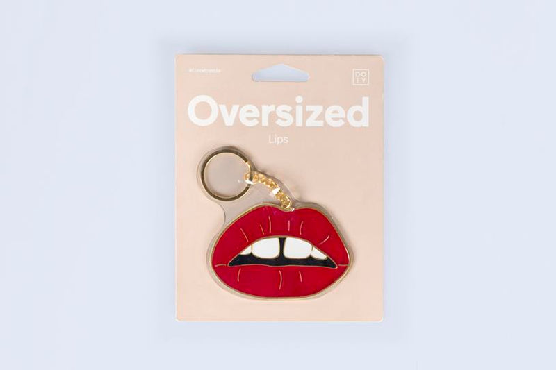 Maison Marcel Oversized Lips Key Ring DOIY