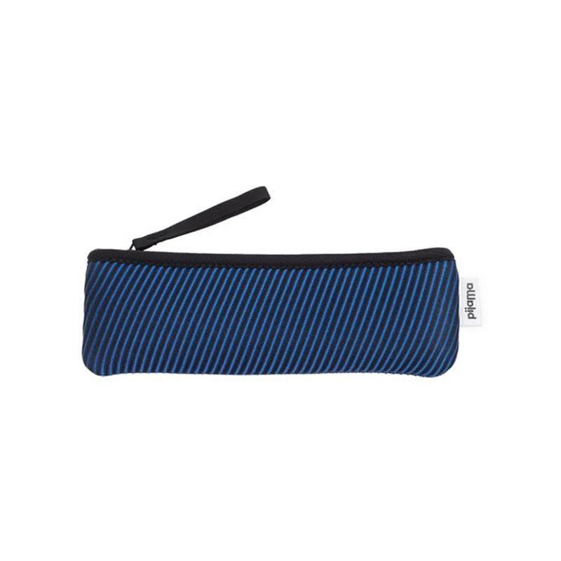 Maison Marcel Pijama Pencil Case Stripes Blue