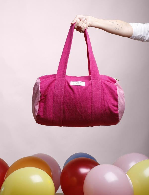 Maison Marcel Rive Droite Cherry & Pink City Bag