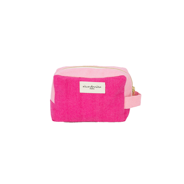 Maison Marcel Rive Droite Make Up Pouch Cherry & Pink