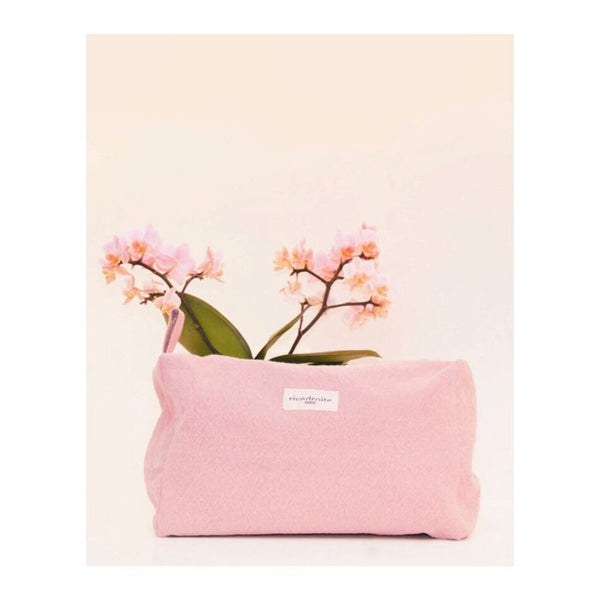 Maison Marcel Rive Droite Maternity Toiletry Pink Bag