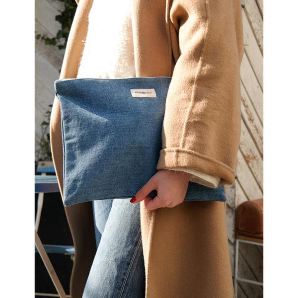 Maison Marcel Rive Droite Medium Pouch Stone Washed