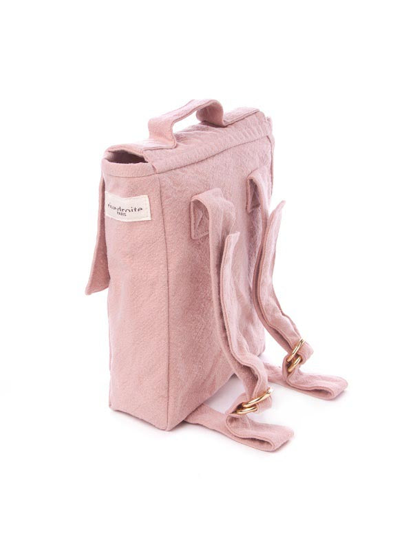 Maison Marcel Rive Droite Pink Backpack