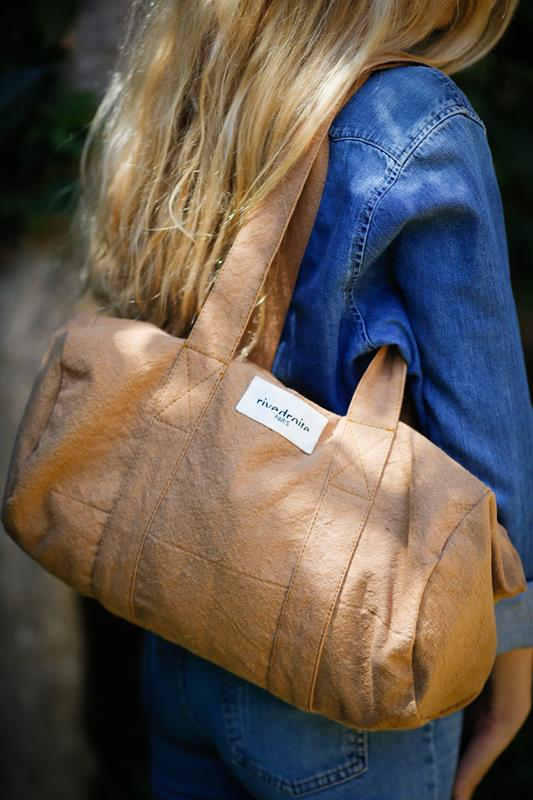 Maison Marcel Rive Droite Tobacco City Bag