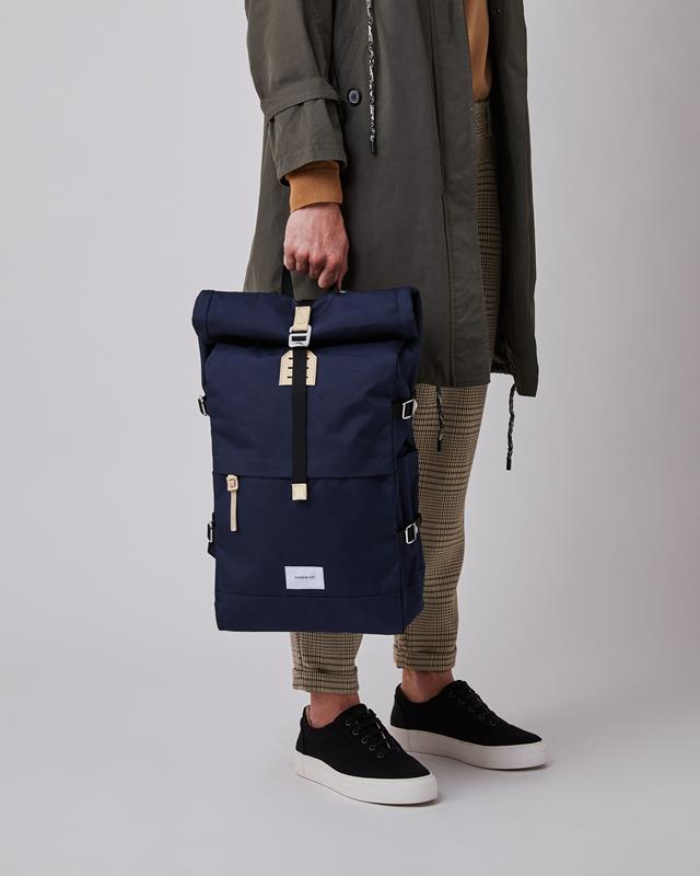 Maison Marcel Sandqvist Navy Bernt Backpack