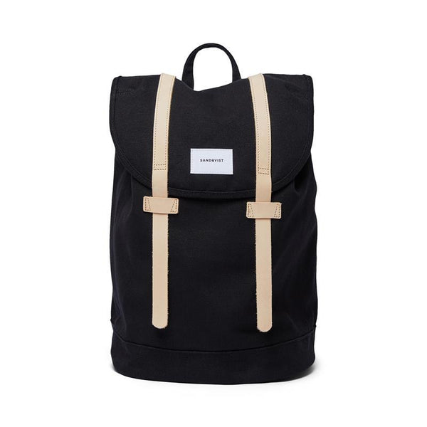 Maison Marcel Sandqvist Stig Backpack Black