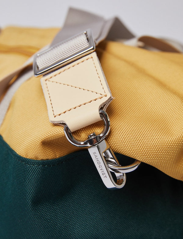 Maison Marcel Sandqvist Yellow & Green Milton Bag
