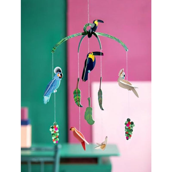 Maison Marcel Studio Roof Exotic Birds Mobile
