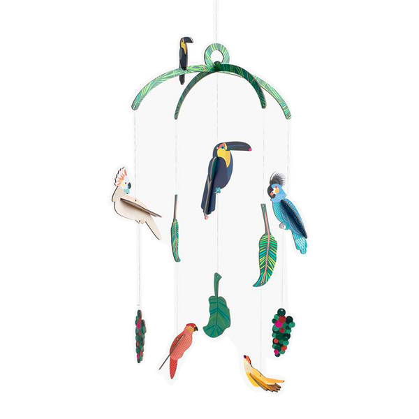 Maison Marcel Studio Roof Mobile Exotic Birds