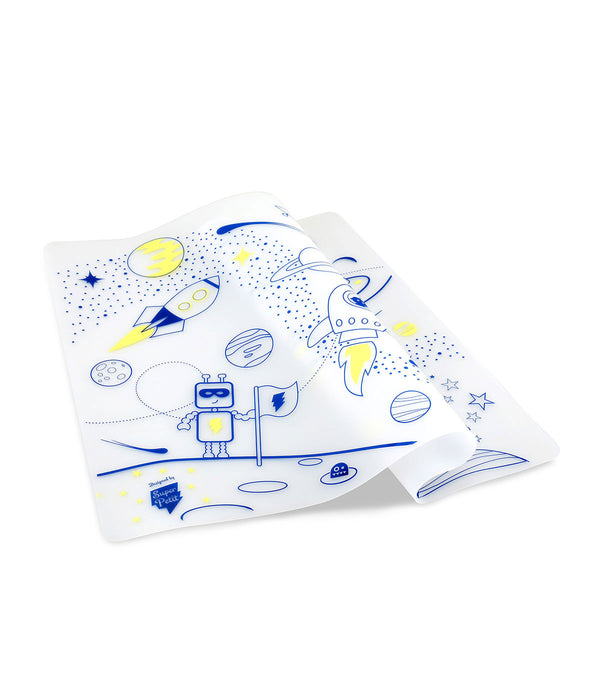 Maison Marcel Superpetit Coloring Table Mat Into Space