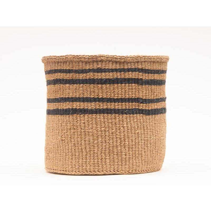 Maison Marcel The Basket Room Black & Natural XS to XL Basket